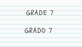 Grade 7 Educational Packet Clik Here
