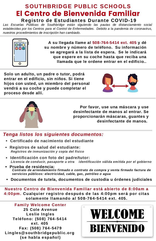 ESP2 Family Welcome Center cv instructi