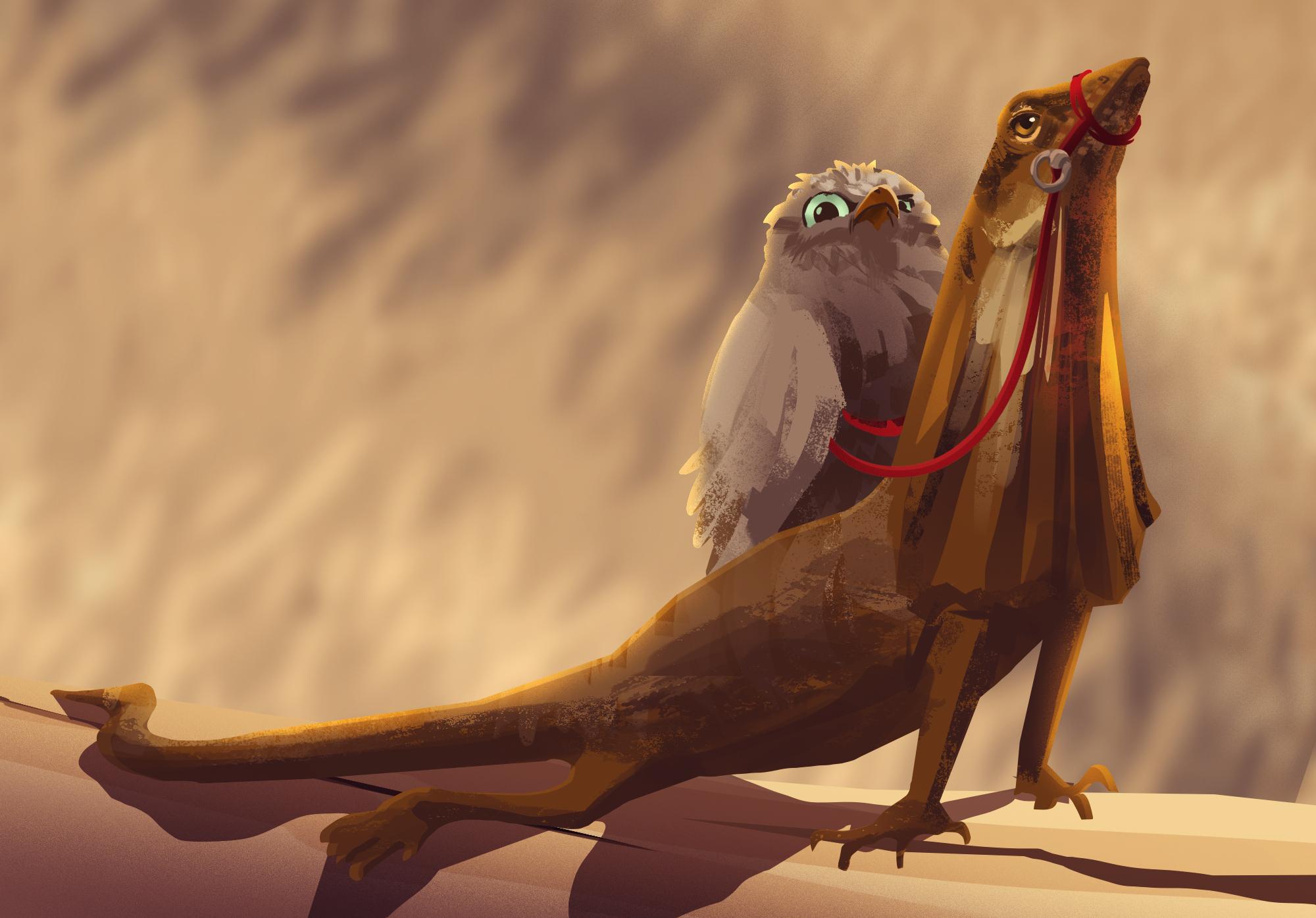 Owl Lizard