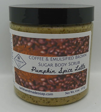 Pumpkin Spice Latte (with Coffee and Brown Sugar)