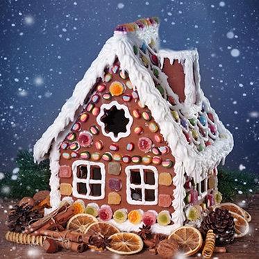 Gingerbread House Melt