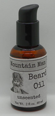 Mountain Man Beard Oil - unscented