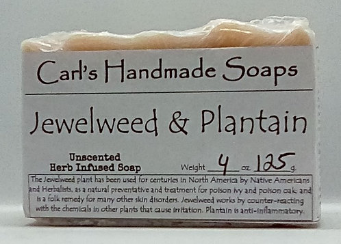 Jewelweed & Plantain Poison Ivy Soap