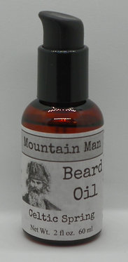 Mountain Man Beard Oil - Celtic Spring