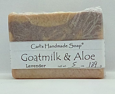 Goat Milk with Aloe and infused with Lavender
