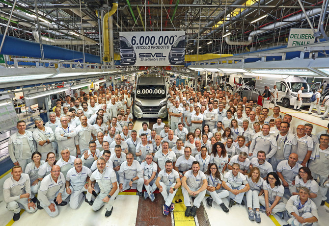 6 000 000 Ducato! Fiat świętuje.
