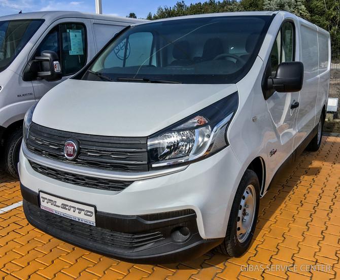 Fiat Talento - wersja furgon