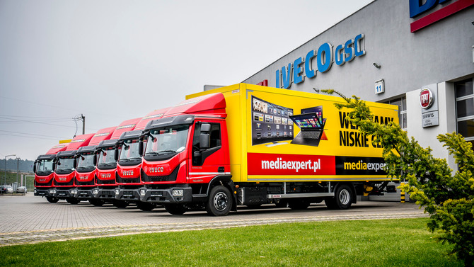 #IvecoNaWydaniu - IVECO Eurocargo dla firmy TERG S.A. (Media Expert)