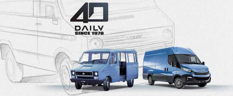 40 LAR IVECO DAILY