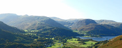 The setting of the Rectory in the Dale near foot of Ullswater