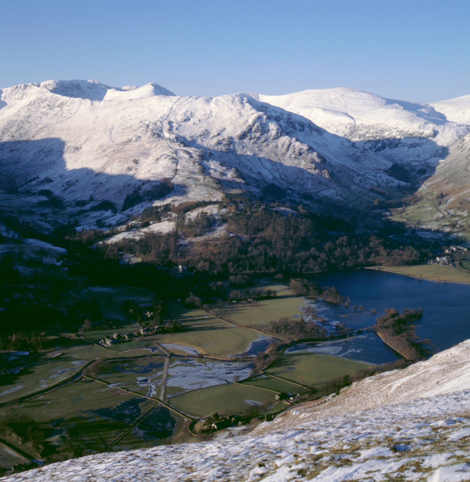 Patterdale and Glenridding.  Our house is near the bottom of the picture.