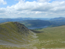On the ridges after Helvellyn