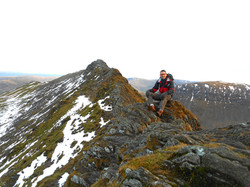 Enjoying Striding Edge!