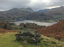 Ullswater to Helvellyn in Autumn