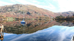 Yaght on Ullswater