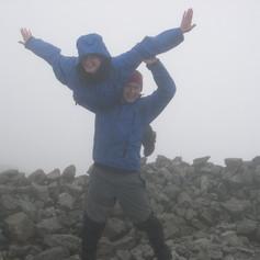 Morris and Judith on Final Munro.JPG