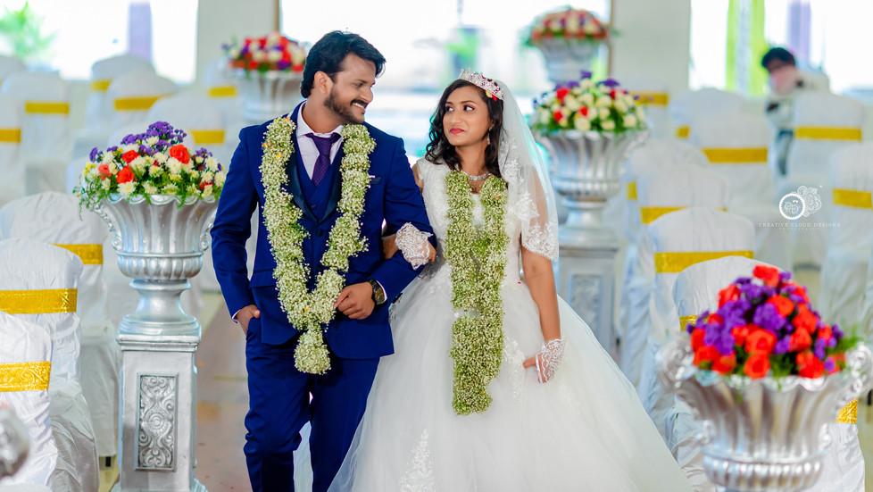 Kranthikumar💞Susmitha Sharon | Wedding Ceremony | CSR Gardens