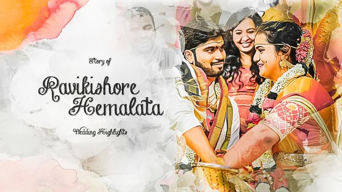 Ravikishore & Hemalata | Traditional Wedding Promo Teaser 2021| Hyderabad
