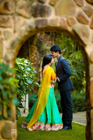 Santosh & Priyanka pre-wedding portraits