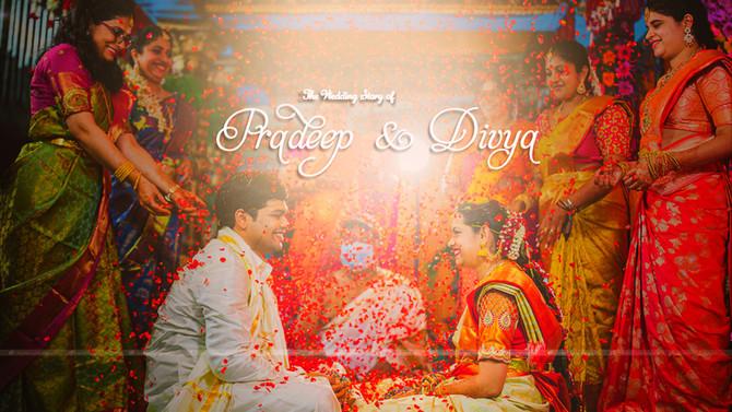 Pradeep Divya | A WEDDING FILM | A Film by CreativeCloudDesigns