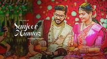 The Wedding Story of Sanjeev & Mumtaz   Wedding Highlights 2020