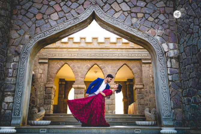 Adorable Pre Wedding Photoshoot Hyderabad- FORT GRAND | Bhuvan & Geethika