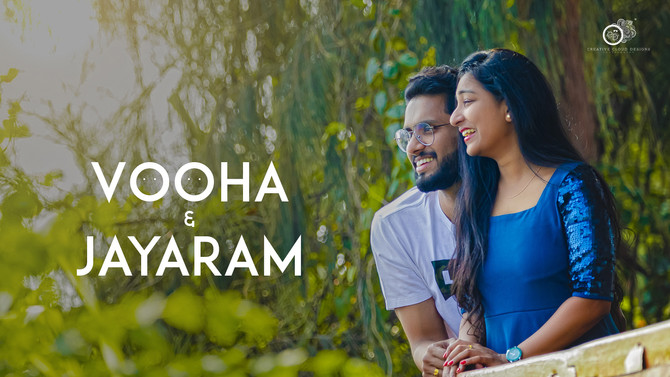 Vooha Jayaram | Pre-Wedding Story | Creative Cloud Designs- Vijayawada