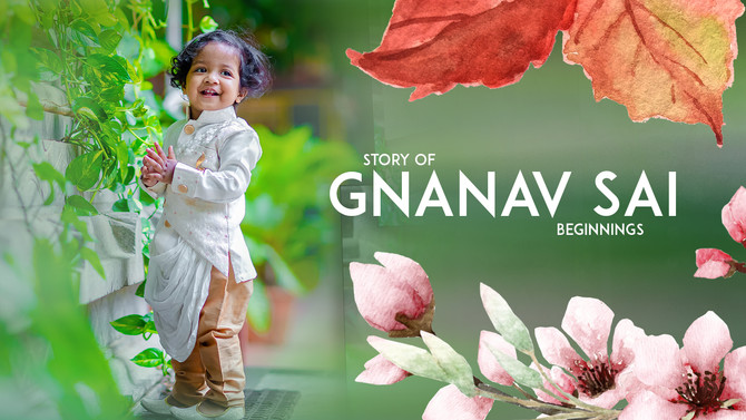 Gnanav Sai Pre-Birthday Song Shoot by Creative Cloud Designs