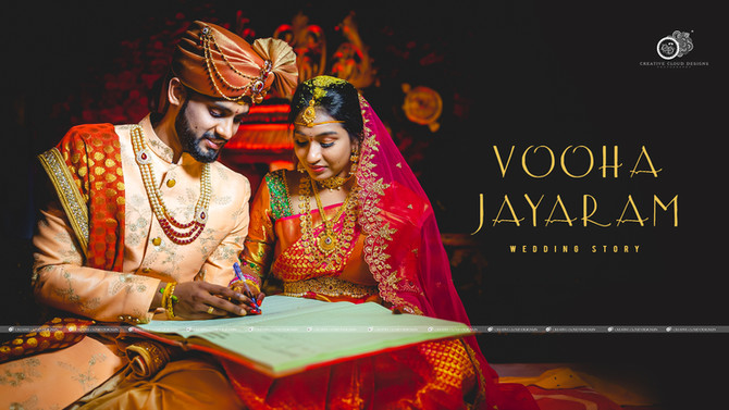 Vooha Jayaram | Wedding Story | Creative Cloud Designs