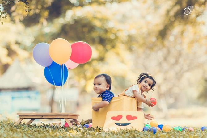 Baby Photoshoot in Vijayawada - Inaaya & Viaan's Story