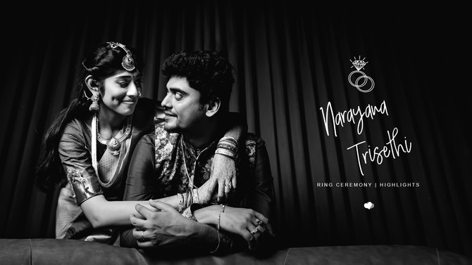 Narayana & Trisethi | Best Ring Ceremony Video Teaser 2020 | Creative Cloud Designs