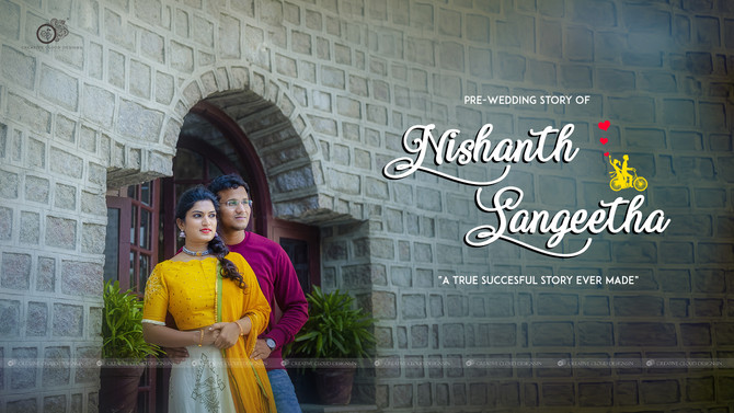 Pre-Wedding Couple Story of Sangeetha & Nishanth