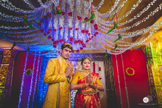 Wedding Highlights of Priya & Gopi | Vijayawada | Creative Cloud Designs