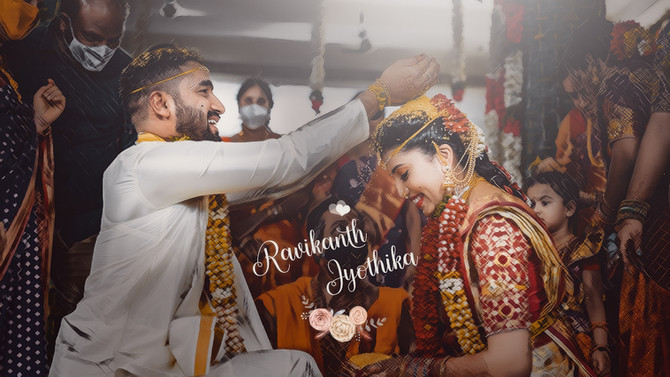 Jyothika Ravikanth   Wedding Story   Hyderabad