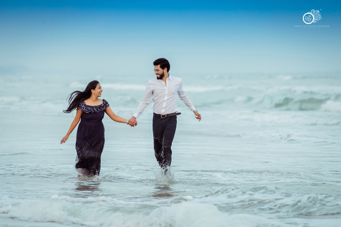 Vooha Jayaram Pre Wedding Shoot Story| Seabreeze Resorts