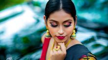 Sowmya Tanari's Fashion Portfolio   Indian Outdoor Model Photoshoot   Vijayawada