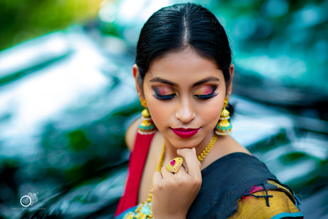 Sowmya Tanari's Fashion Portfolio | Indian Outdoor Model Photoshoot | Vijayawada