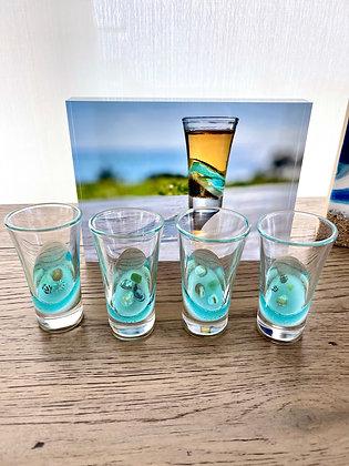 Ocean Inspired Shot Glass