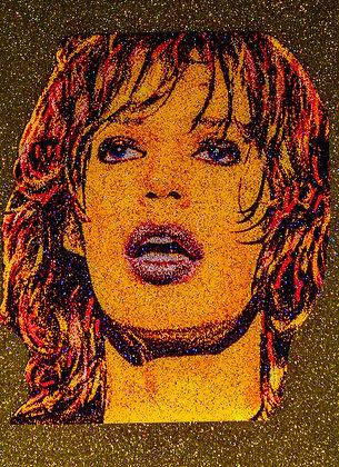Satisfaction Portrait Golden