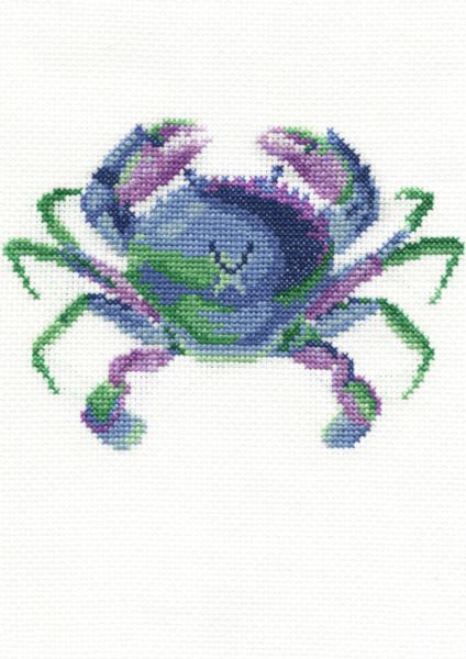 DMC Colourful Crab Nature  Cross Stitch Kit