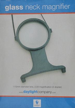 Glass Neck Magnifier