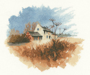 Heritage Crafts John Clayton Old Farmhouse Cross Stitch Kit