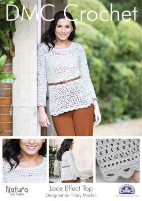 Lace Effect Top Crochet Pattern