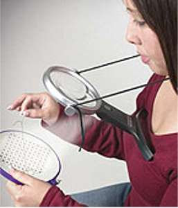 """Neck Magnifier 4"""" Lighted"""