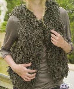 Fancy Gilet Knitting Pattern