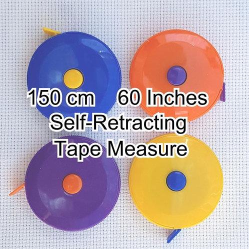 Self-Retracting Tape Measure