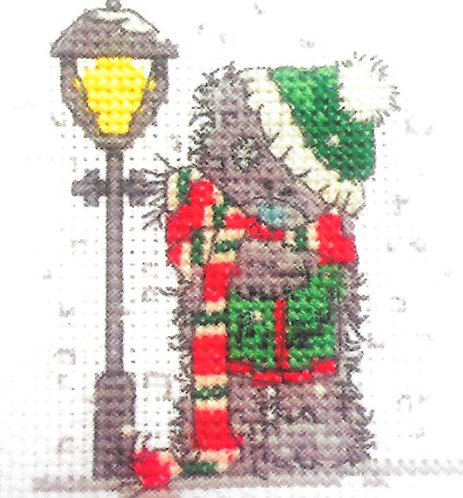 DMC Me To You Tatty Teddy Christmas Mini Cross Stitch Singing Carols