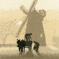 Heritage Crafts Windmill Cross Stitch Kit