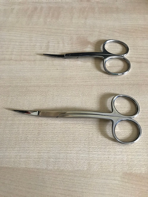 Double Curved Scissors