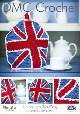 Union Flag Tea Cozy Crochet Pattern